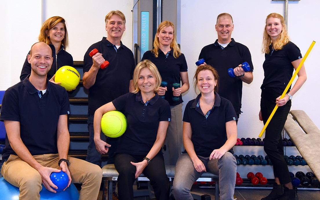 Het team van Fysiotherapie Bennebroek