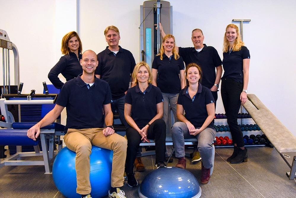 Teamfoto Fysiotherapie Bennebroek